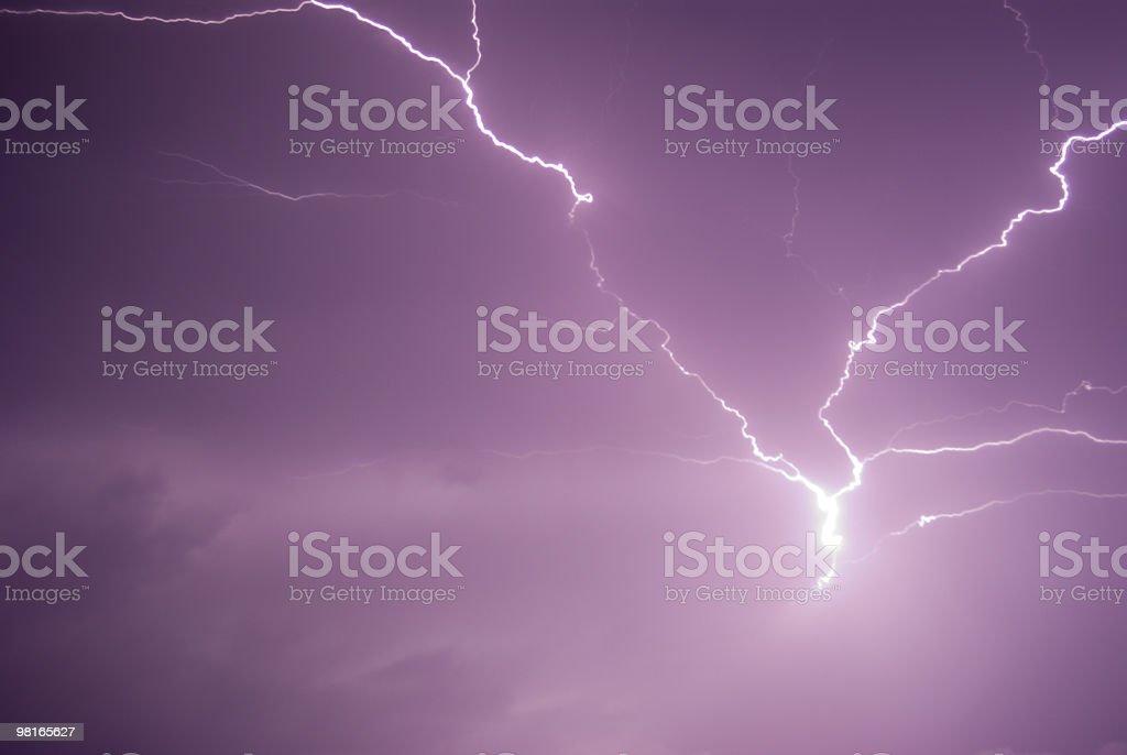 Lightening royalty-free stock photo