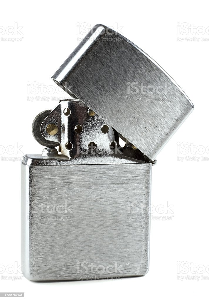 Lighter isolated royalty-free stock photo