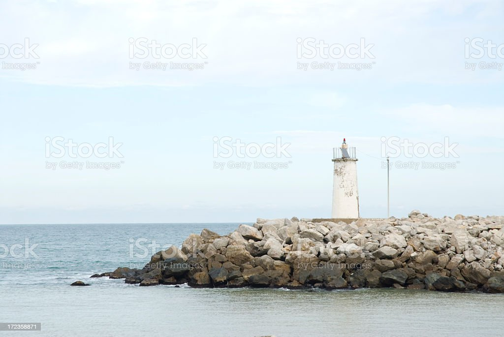 Lighthouse / Agva Istanbul royalty-free stock photo