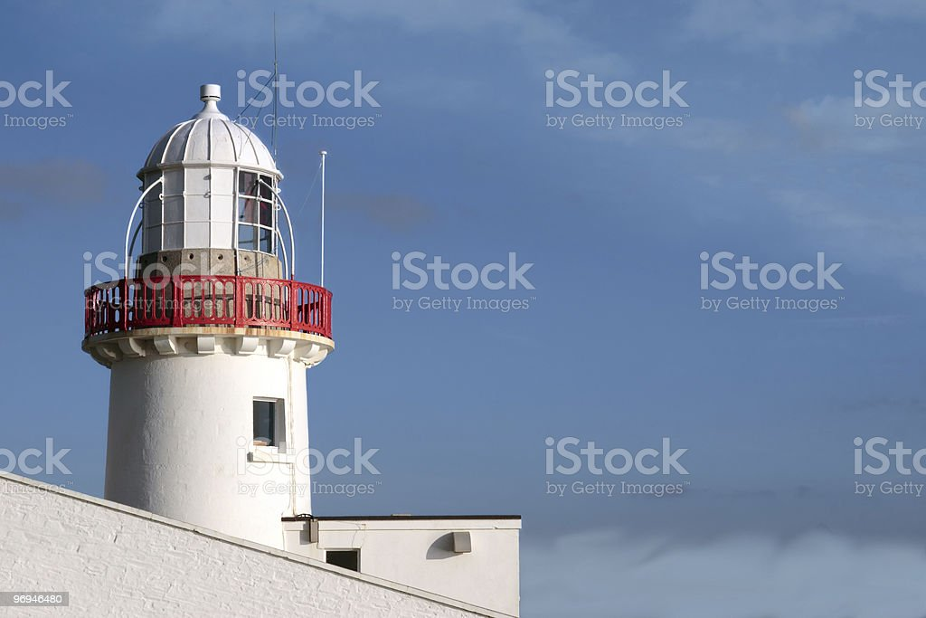 lighthouse alone royalty-free stock photo