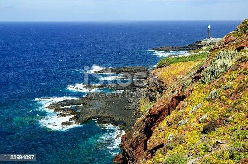 Faro de Barlovento, Barlovento, La Palma, Canary Islands, Spain
