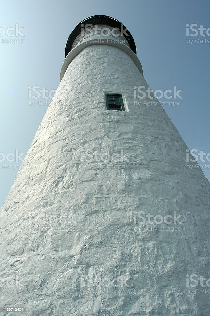 Lighthouse - another view royalty-free stock photo