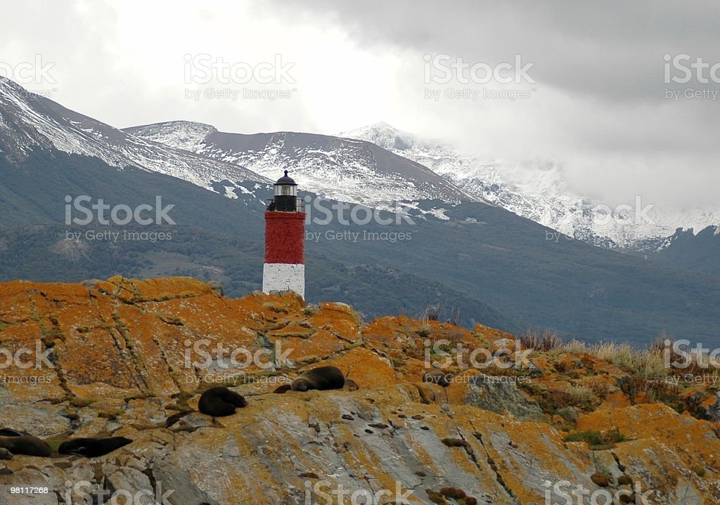 Lighthouse, Argentina royalty-free stock photo