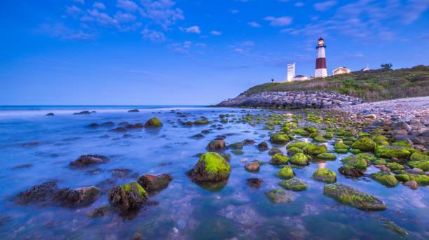 Leuchtturm am Montauk-Punkt, Lange Inseln – Foto
