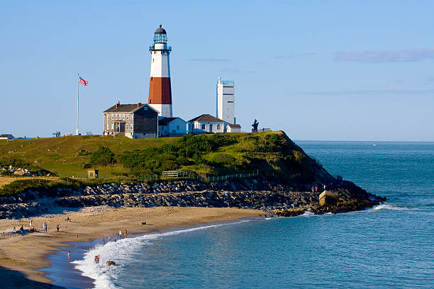 Leuchtturm in Montauk Point. – Foto