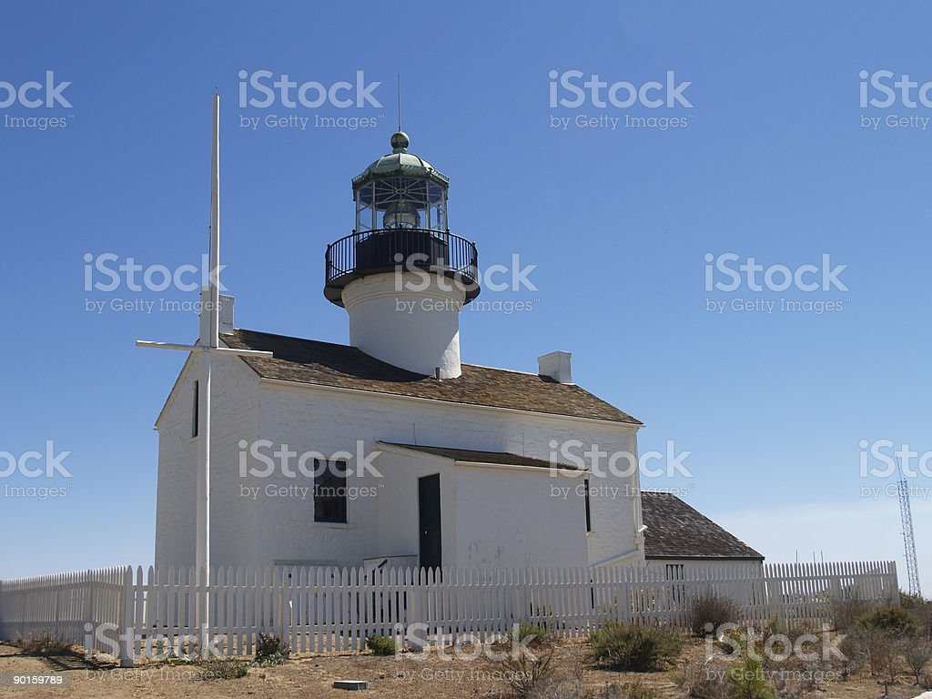 Lighthouse Building royalty-free stock photo
