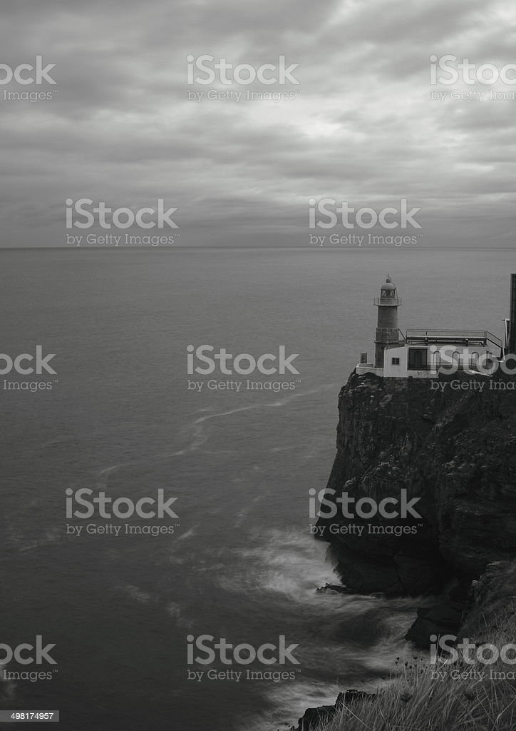 Lighthouse B & W – Foto