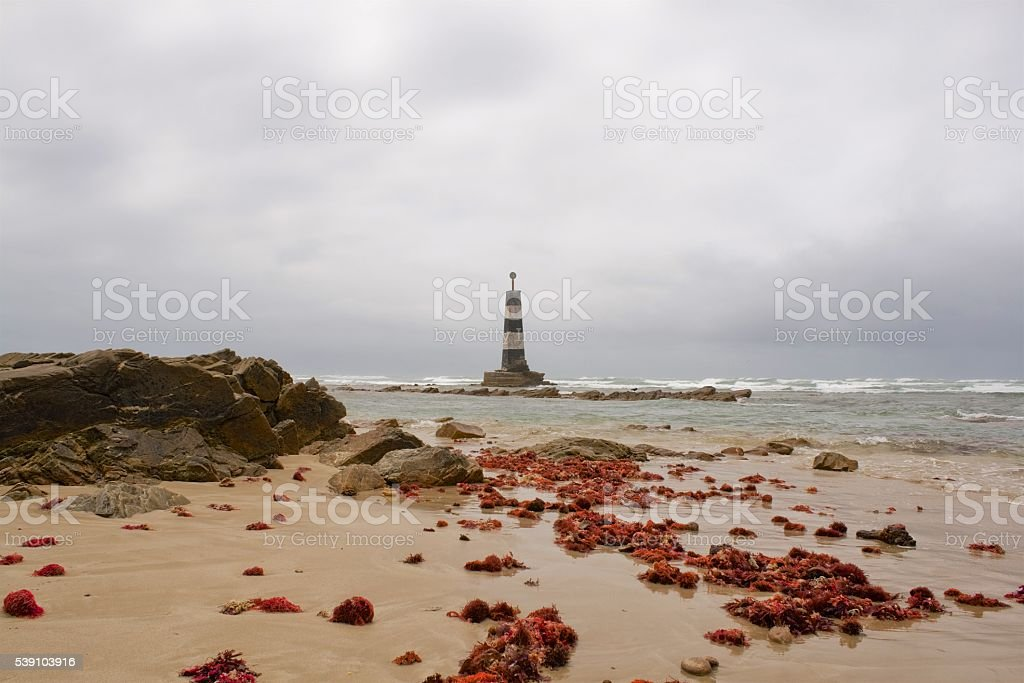 Lighthouse Cape Recife stock photo