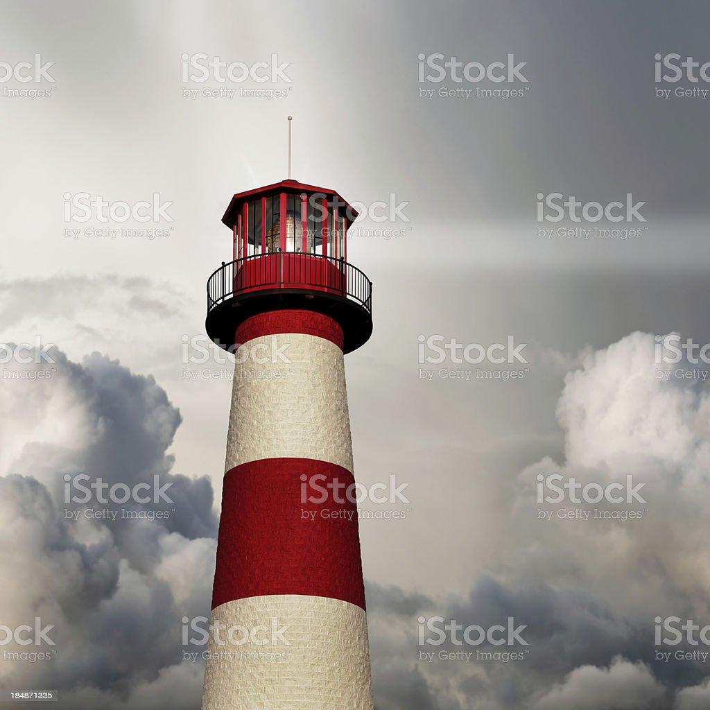 XL lighthouse close-up royalty-free stock photo