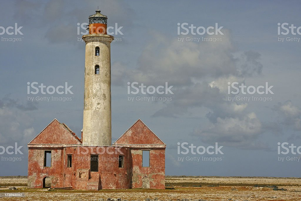 Lighthouse Curacao # 2 XL royalty-free stock photo