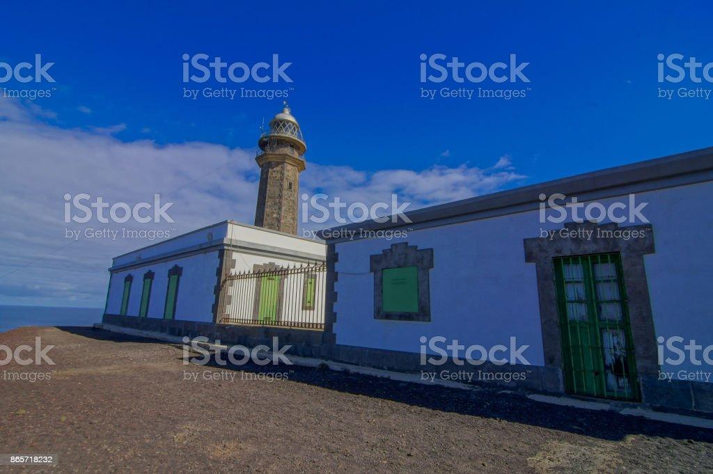 Lighthouse Faro de Orchilla stock photo