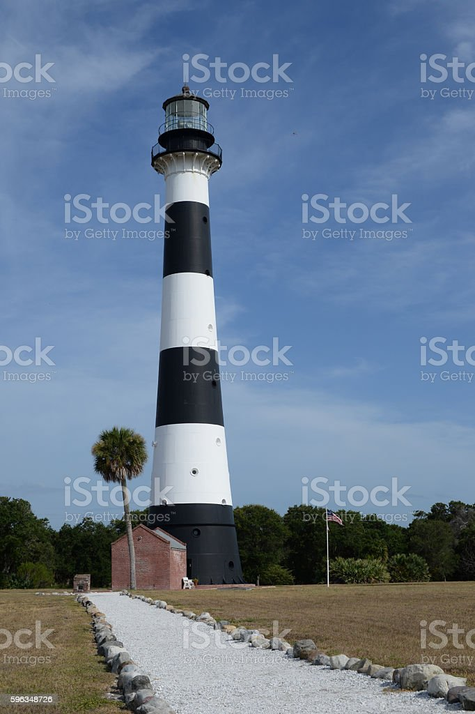 Lighthouse Florida royalty-free stock photo