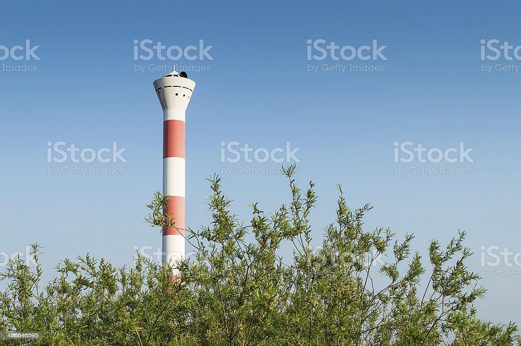 Lighthouse Hamburg royalty-free stock photo