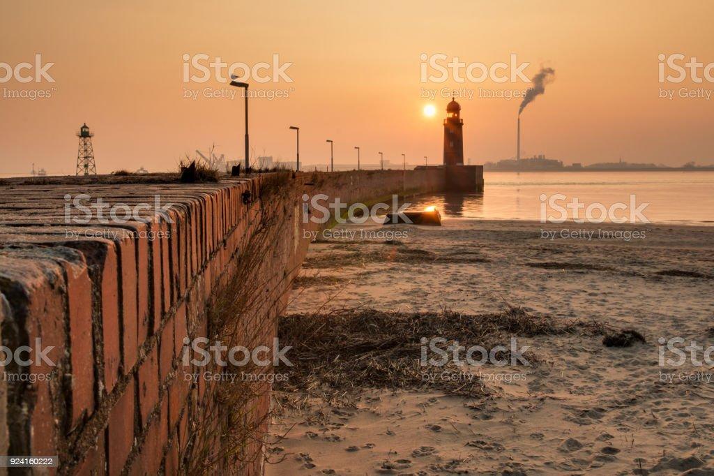 Leuchtturm in Bremerhaven – Foto