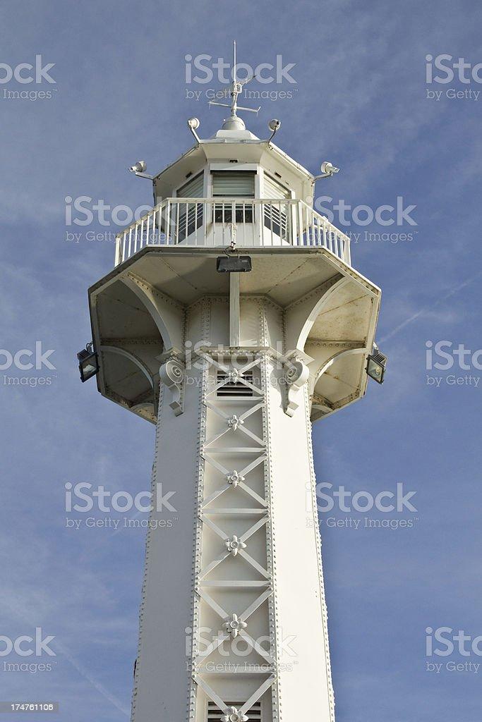 Lighthouse in Geneva stock photo