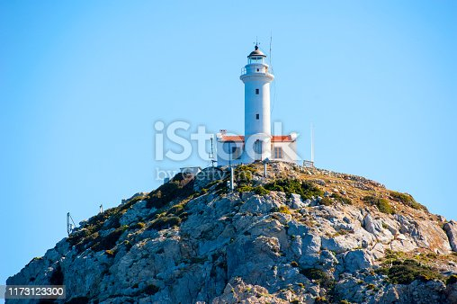 Lighthouse in Knidos, Datca, Turkey