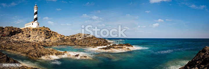 182421396 istock photo Lighthouse in Menorca 599258676