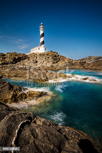 182421396 istock photo Lighthouse in Menorca 599269982
