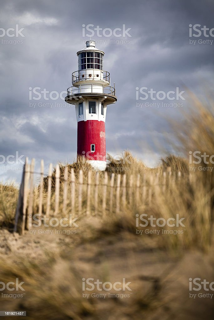 Lighthouse in Nieuwpoort. royalty-free stock photo