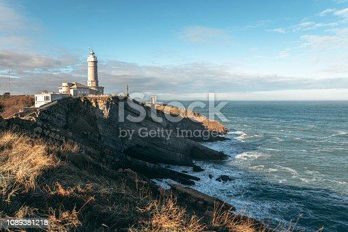 Cabo Mayor lighthouse in Santander, Spain