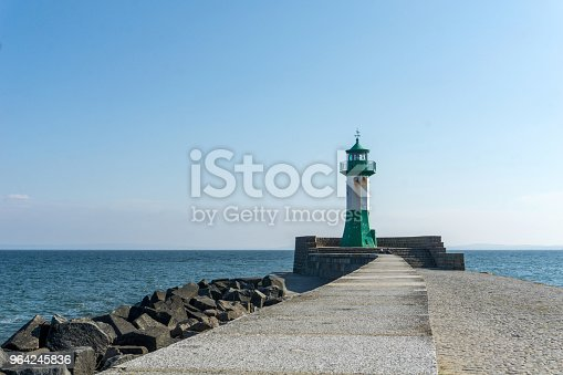istock Lighthouse in Sassnitz on the island Ruegen, Germany on a sunny day in summer 964245836