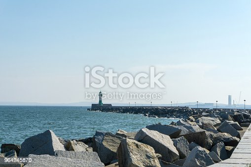istock Lighthouse in Sassnitz on the island Ruegen, Germany on a sunny day in summer 964245870