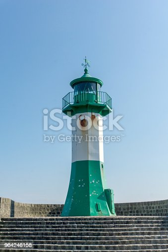 istock Lighthouse in Sassnitz on the island Ruegen, Germany on a sunny day in summer 964246158