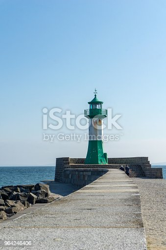 istock Lighthouse in Sassnitz on the island Ruegen, Germany on a sunny day in summer 964246406