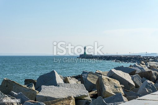 istock Lighthouse in Sassnitz on the island Ruegen, Germany on a sunny day in summer 964246590