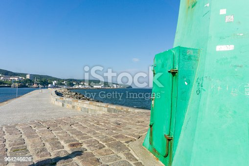 istock Lighthouse in Sassnitz on the island Ruegen, Germany on a sunny day in summer 964246626