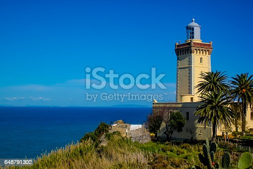 Lighthouse in Tanger (Faro en Tanger)