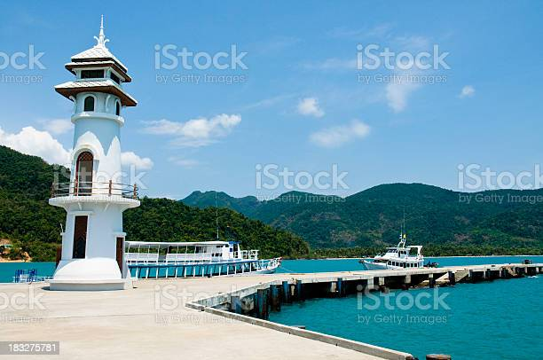 Lighthouse In Thailand Stock Photo - Download Image Now