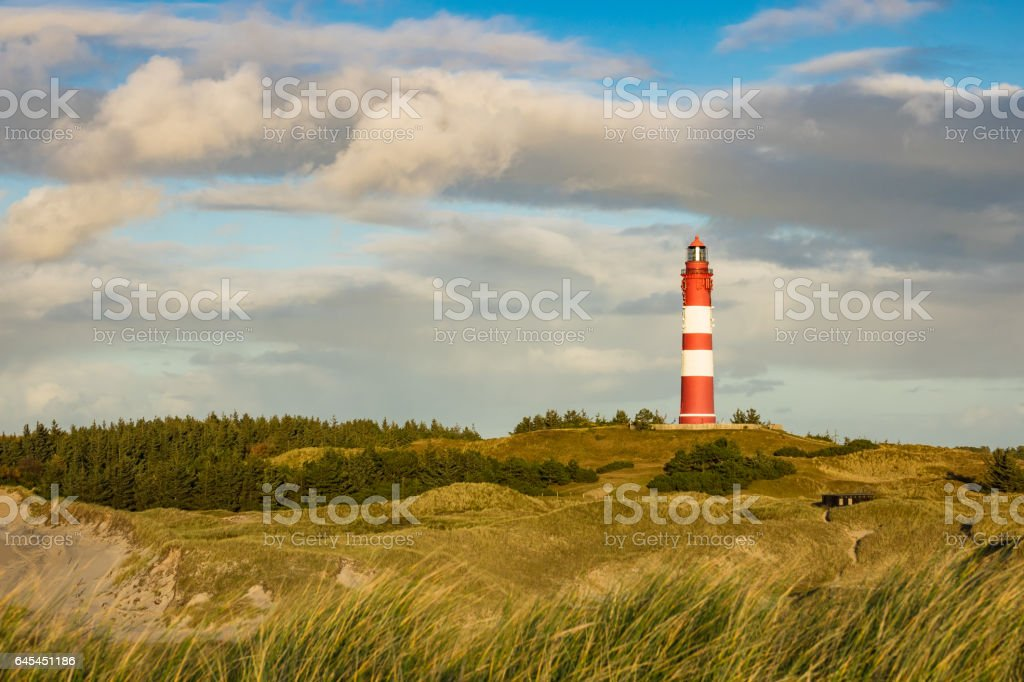 Lighthouse in Wittduen on the island Amrum – Foto
