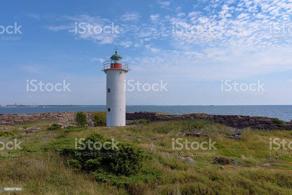 Lighthouse island royalty-free stock photo