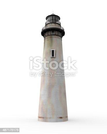 1030314738 istock photo Lighthouse Isolated 487175175