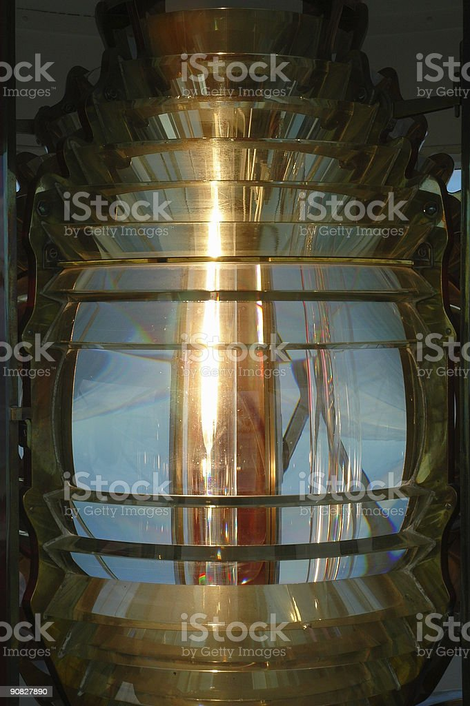 Lighthouse Lamp royalty-free stock photo