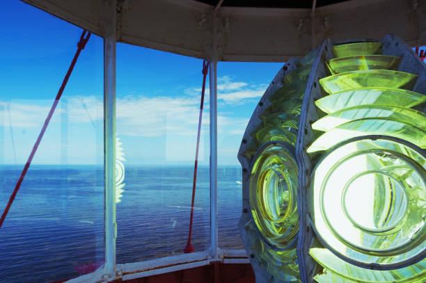 leuchtturm gläser - kanada rundreise stock-fotos und bilder