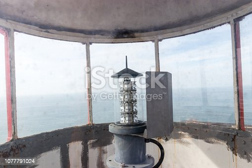 615497916 istock photo Lighthouse lightbulb 1077791024