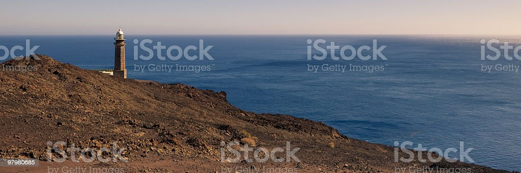 Lighthouse Faro de Orchilla, El Hierro, Canary Islands royalty-free stock photo