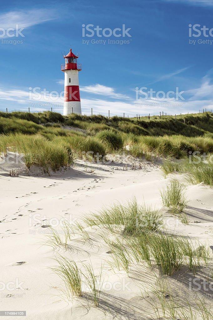 Lighthouse List royalty-free stock photo