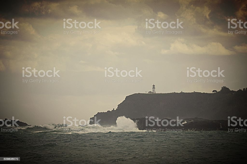 Lighthouse Look-Out stock photo