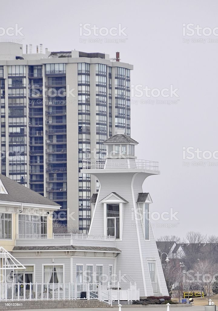 Lighthouse Oakville stock photo