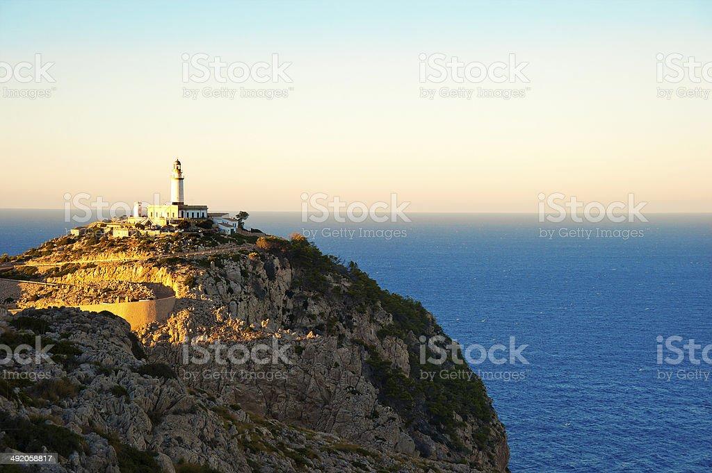 Lighthouse Of Cap de Formentor stock photo
