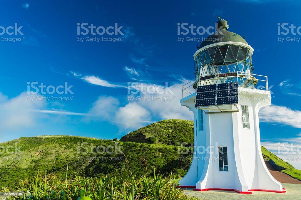 Lighthouse of Cape Reinga II stock photo