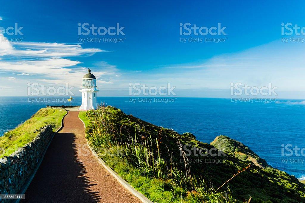 Lighthouse of Cape Reinga III stock photo