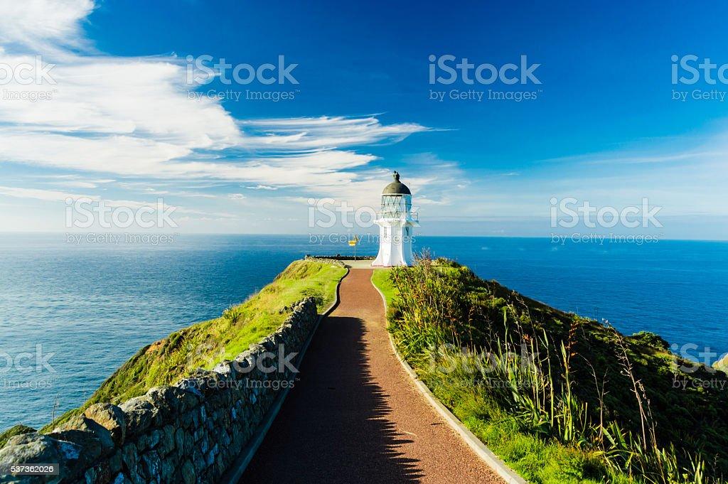 Lighthouse of Cape Reinga IV stock photo