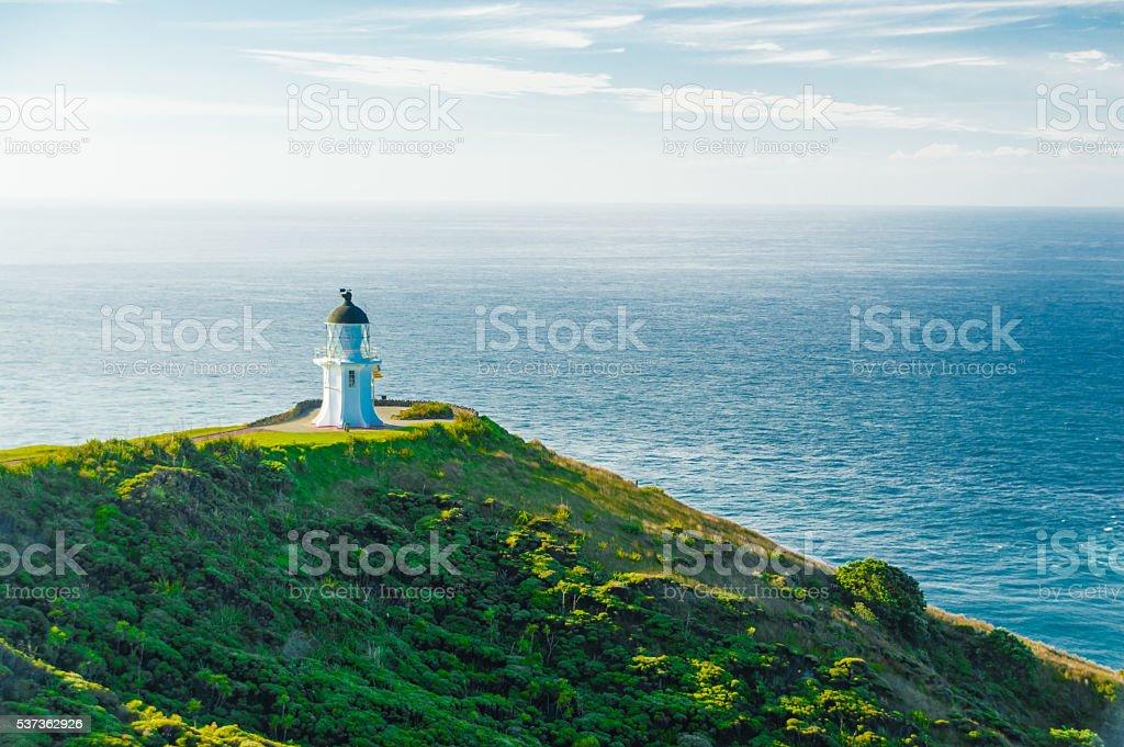 Lighthouse of Cape Reinga stock photo