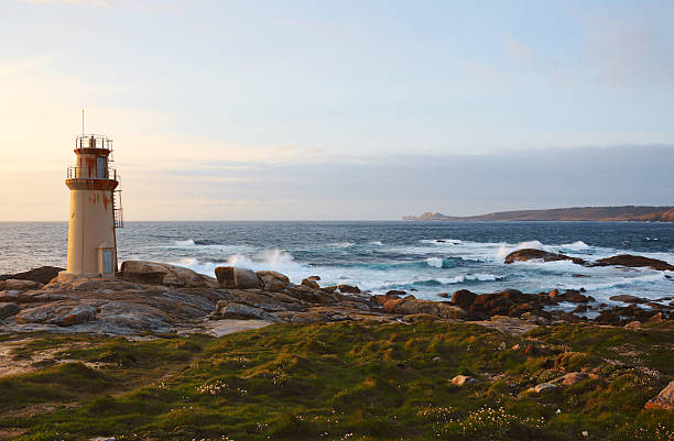 Lighthouse of Muxía, Costa da Morte in Galicia, Spain – Foto