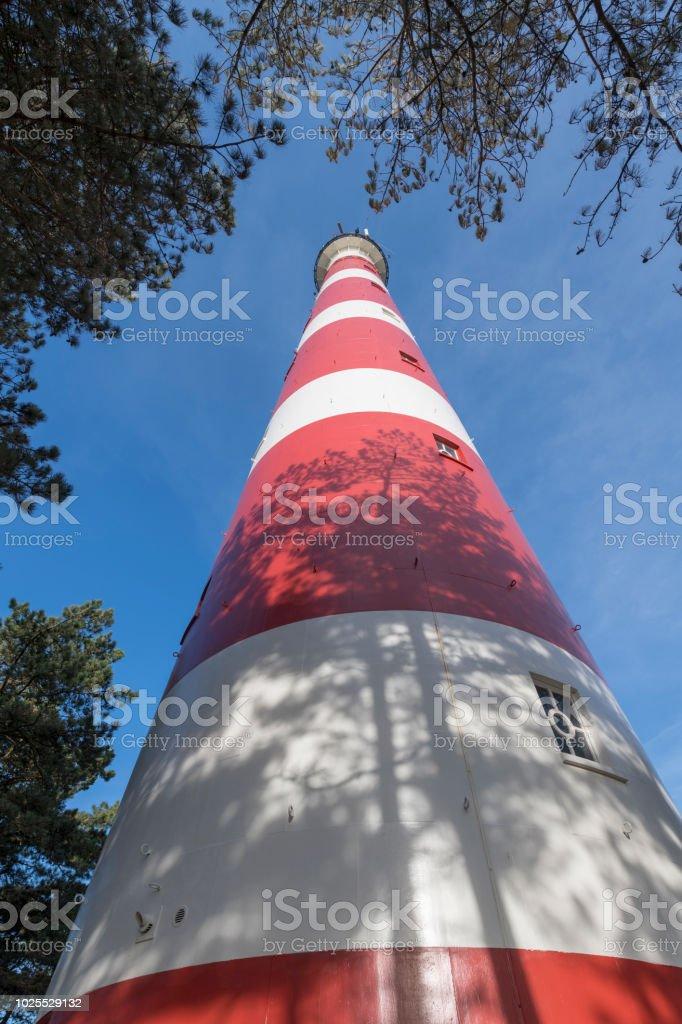 Leuchtturm der Insel Ameland im Norden der Niederlande – Foto
