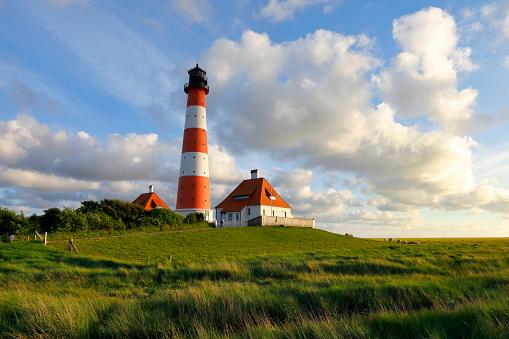 Lighthouse of Westerhever, Germany